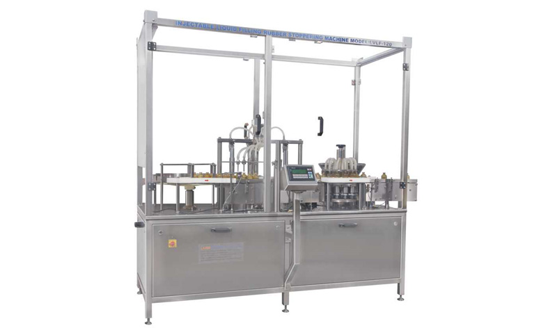 rubber stoppering machine